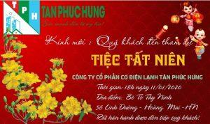 Tiệc tất niên 2019 chào xuân canh tý 2020 Tân Phúc Hưng