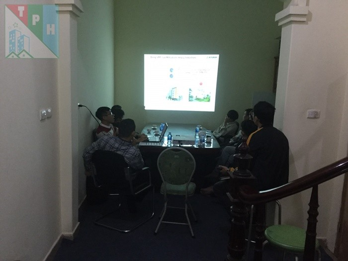 Training Cac San Pham Dieu Hoa Mitsubishi Cho Ky Thuat Tan Phuc Hung (6)
