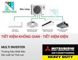 Dieu Hoa Multi Mitsubishi Cho Chung Cu