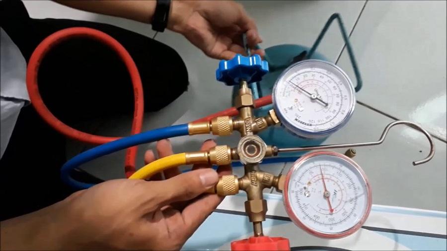 Cách Do Gas Máy Lạnh