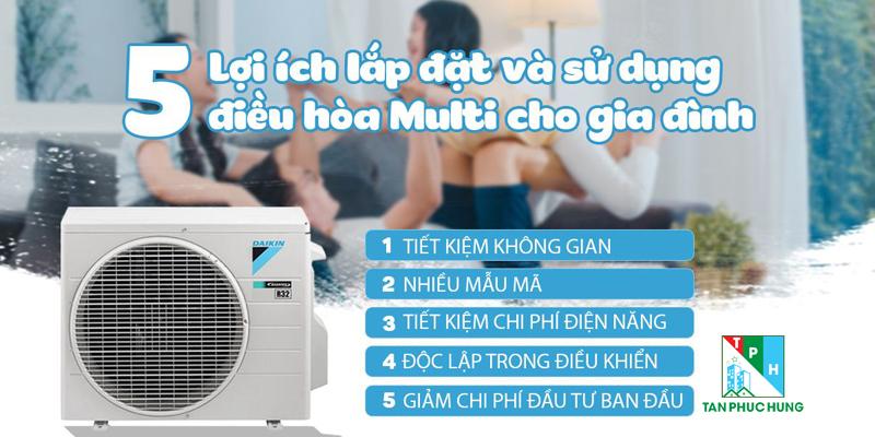 5 Loi Ich Khi Lap Dat Va Su Dung He Thong Dieu Hoa Multi Cho Gia Dinh