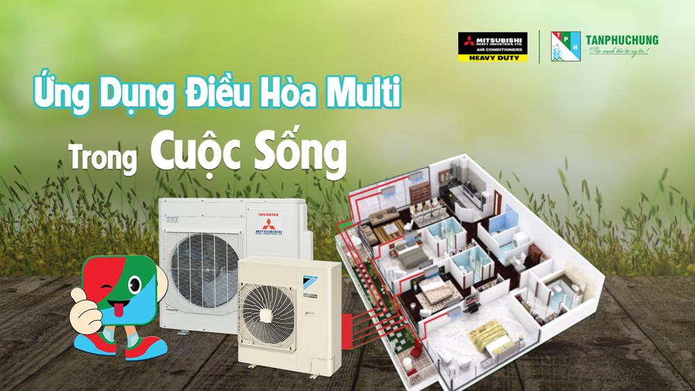 Lap Dat He Thong Dieu Hoa Multi Cho Can Ho