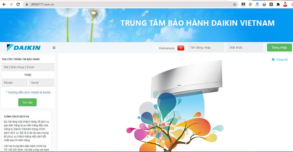 Bao Hanh Daikin