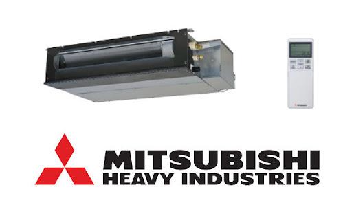Điều hòa âm trần nối ống gió Multi Mitsubishi tiết kiệm không gian