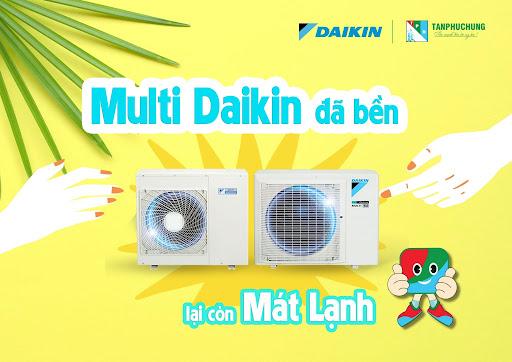 Điều hòa Multi Daikin đã bền lại còn mát lạnh