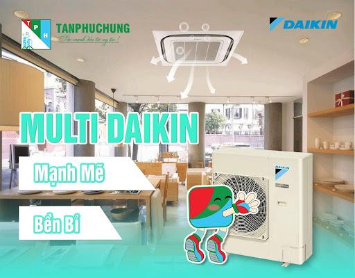 Dàn lạnh âm trần Multi Daikin tiết kiệm tốt đa diện tích lắp đặt